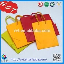Wholesale Luxury Paper Shopping Bag&folded Shopping Paper Bag;custom Printed Paper Bag