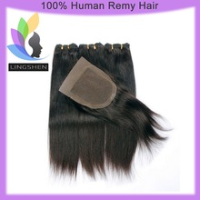 Wholesale Fast Shipping Natural Color Straight Free Part Lace Closure Brazilian Hair Closure