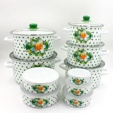 Porcelain Enamel Cookware Set