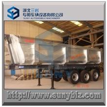 Aço hardox 3 eixo semi-reboque basculante, 20 t, 30 t, 40 t, 50 t, 60 t, 70 t, 80 t, 90 t, t 100 dump trailer