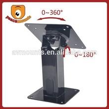180 degrees tilt 360 rotating table display rack