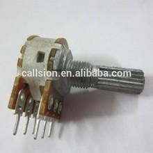 10k linear potentiometer with push push switch volume potentiometer