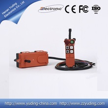 F21- 4s control long distance rf transmitter and receiver industrial remote control for overcrane and electric hoist