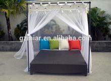 Rattan furniture outdoor cabana beds sun bed 503018