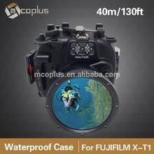 Mcoplus 40M 130ft Camera Waterproof Diving Housing Case For Fujifilm Fuji X-T1 XT1 18-55mm Lens