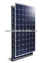 2015 Good Quality High Efficiency low price 12v 180w solar panel