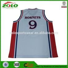 OEM Applique Basketball Uniform Design