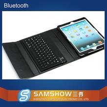Custom Keyboard Skin English Amazon Floding Silicone Keypad Pu Leather Case Bluetooth Wireless Bluetooth Keyboard For Ipad Case