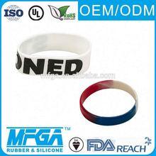 silicon magnetic slap bracelet fashion