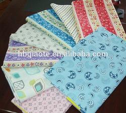 100% cotton custom printed fabric free samples