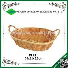 Cheap bulk plastic wicker baskets for bread