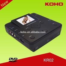 AV in recorder hdd media player full hd 1080p