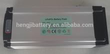 36V 10Ah LiFePO4 battery for e-bike