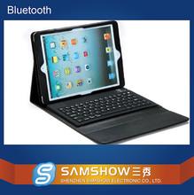 Korean Laptop Keyboard Prices Cheap Floding Silicone Keypad Pu Leather Case Bluetooth Wireless Custom Keyboard Skin For Ipad 5