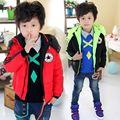 Vente en gros la mode wt-2137 d'hiver pour enfants vêtements enfants vêtements enfants garçons d'épaisseur. l'enfant. manteau veste d'hiver à bas prix