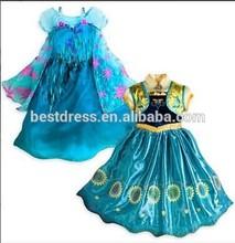 2015 frozen elsa dress cosplay costume in frozen for girl frozen costume