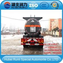 8x4 Dongfeng muriatic acid truck acid tanker truck chemical liquid transport truck