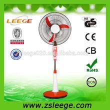 """FD-S01 16"""" CE CB GS ROHS ac/dc rechargeable fans"""