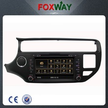 Fit for 2015 Kia Rio in car DVD player with GPS navigation,bluetooth,radio