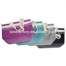high quality company name non woven folding bag
