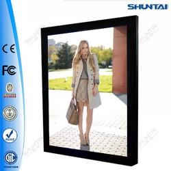 Single Sided Magnetic Slim Aluminium Light Picture Frames