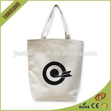 2015 hot sale printed shopping canvas bag