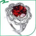 China hizo elegante de la piedra preciosa del anillo de diamante