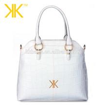 2015 hot sale fashion women bag crocodile leather lady handbag tote