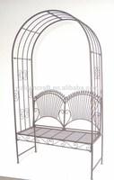 factory price metal garden arch gate