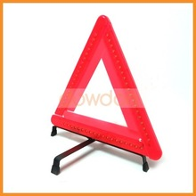 led emergency light warning triangle kit for vehicle