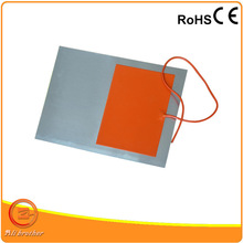 Customized Silicone Heater Plate Stick On Glass Aluminium Plate with Adhesive