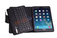 For Ipad mini mini 2 Bluetooth leather Keyboard case red new ebour007
