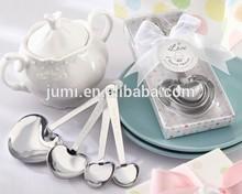 "love beyond measure"" heart measuring spoon nice door gift for wedding"