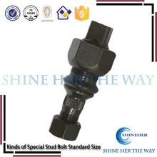 Kinds of special stud bolt standard size for Mitsubish