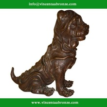 Christmas Gift brass dog figurines