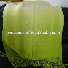 Fashion Design Acrylic Ombre Throw Blanket