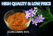 single spices, food additiove,dyestuffs,curcumin/turmeric 95% powder, food additive.