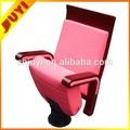 Jy-956 china lieferant langlebig indoor-möbel vip theater stuhl öffentlichen Sitzung stuhl handgemacht 4d bewegung metallrahmen stuhl