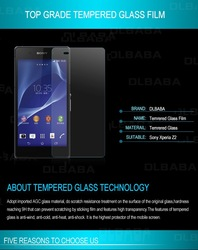 Hot selling Ultra Clear Screen Protector For Sony Z2