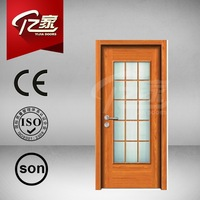 Safety wooden door design house designed made in china