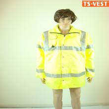 Apparel Roadway Safety Clothing PVC 3M Reflective Safety Vest