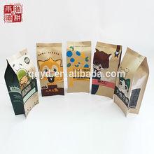 Snacks paper packaging bag, brown paper bags, cheap paper bags for food