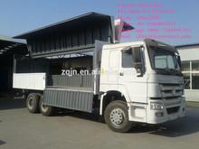 SINOTRUK 10 wheeler cargo truck open wing Van in Manila