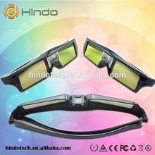 Active shutter 3d glasses wholesale, universal DLP 3D projector glasses
