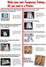 Tattoo Stencil Copier Thermal Papers/Tattoo Stencil Paper