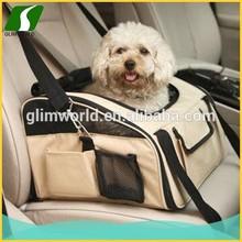 Luxury folding white Pet Carrier Bag