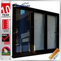 as2047 estándar de resistencia al fuego de vidrio de aluminio de metal puertas de acordeón