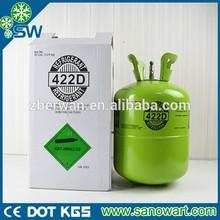 REFRIGERANT GAS R-422D R422d Gas with Manufacturer