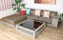 2015 New Model Half Moon All Weather Durable Waterproof Modern Furniture Sofa