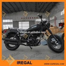 Gas / Diesel Fuel and 200cc Displacement Chopper Bike
